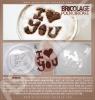 """Bricolage : Pochoir café """" i ♥ you """""""