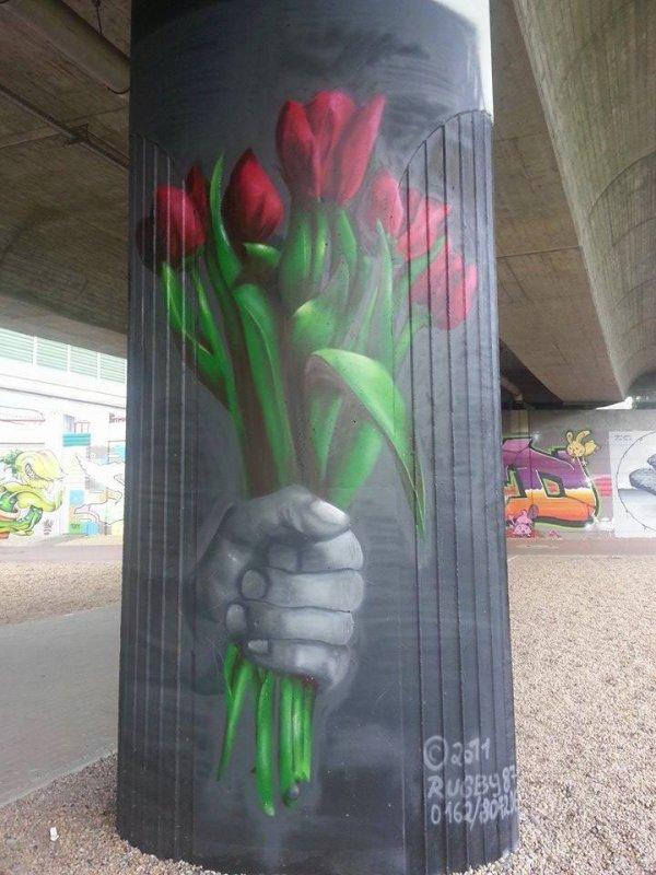 un bouquet pour vous souhaiter une bonne journée