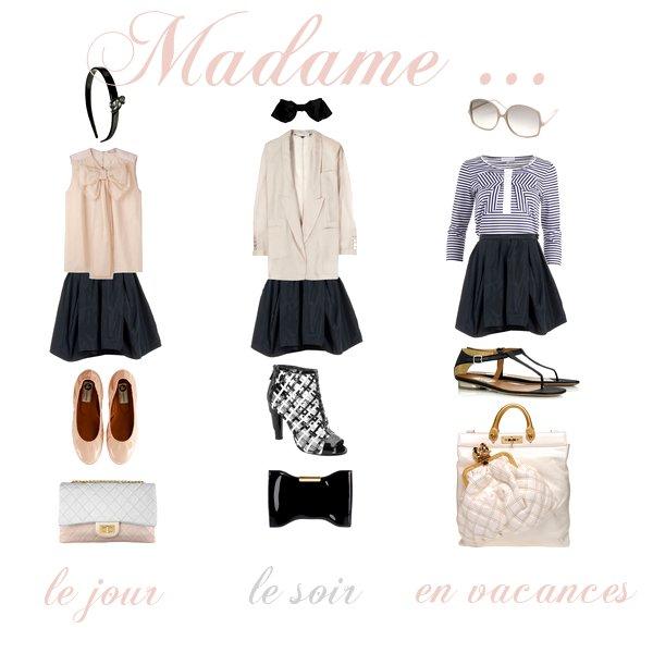 <<064 : Une jupe, trois styles.