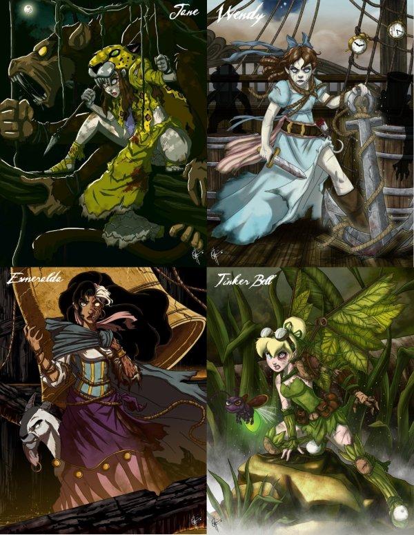 Princesses -  Gothic