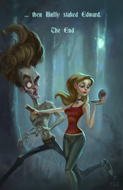Et si on réécrivait l'histoire! Buffy vs Edward