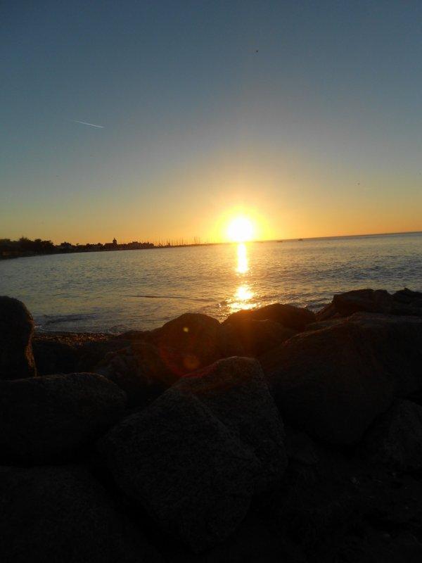 Coucher de soleil sur Piriac
