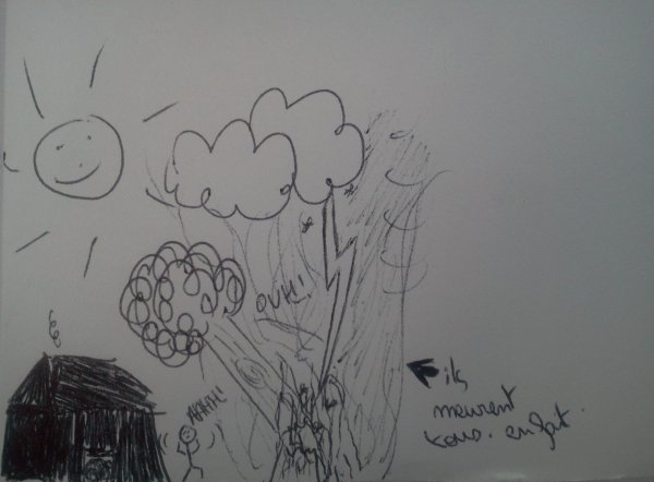 J'dessine trop bien, t'as vu.