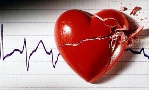 Mon coeur est en mille morceau