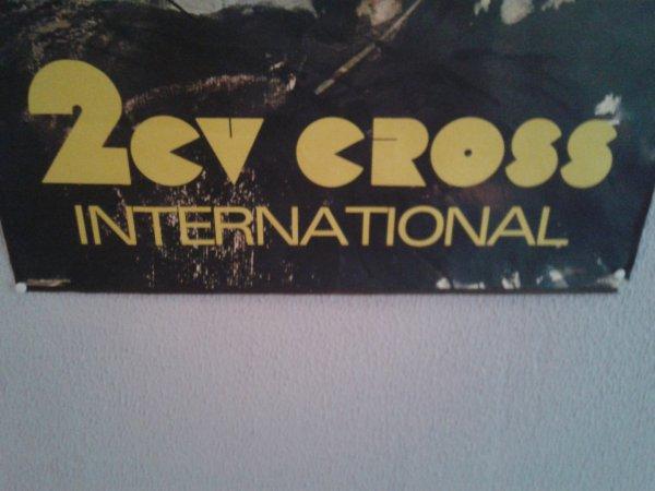 affiche 2 cv cross