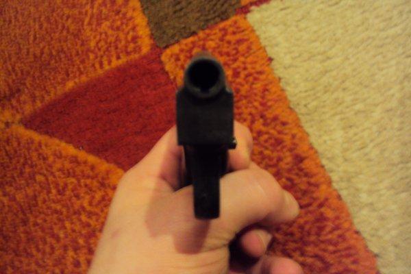 Pistolet d'alarme de marque FEARLESS. automatique