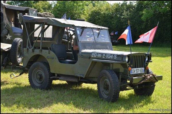 commémoration 7 Juin 2014 à Vercel les jeep 3