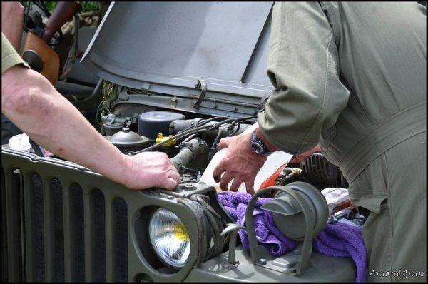 commémoration 7 Juin 2014 à Vercel les jeep 4
