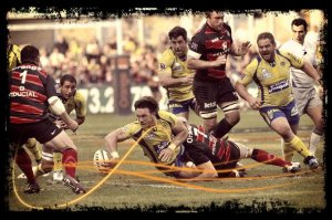 Clermont 35- 5 Toulouse