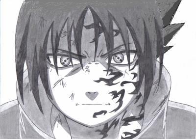 Sasuke naruto et dragon ball z - Dessin naruto et sasuke ...