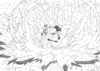 Naruto Vs Sasuke Naruto Et Dragon Ball Z