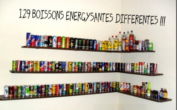 MES BOISSONS ENERGYSANTES ^^