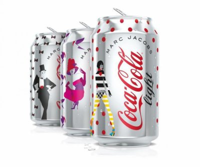 Marc Jacobs pour Coca-Cola Light