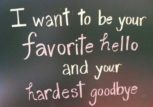 « Les deux choses les plus difficiles à dire sont bonjour pour la première fois et au revoir pour la dernière » Moira Rogers