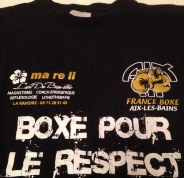 FRANCE-BOXE à AIX- LES- BAINS