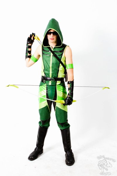 Green Arrow (L'Archer Vert) Cosplay