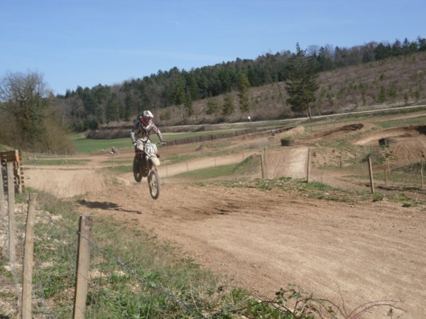 Au terrain Mx Whithe Way :)