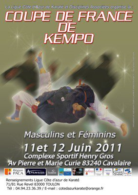 COUPE DE FRANCE DE KEMPO
