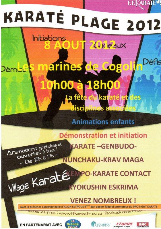 TOURNEE DES PLAGES FFKARATE 2012