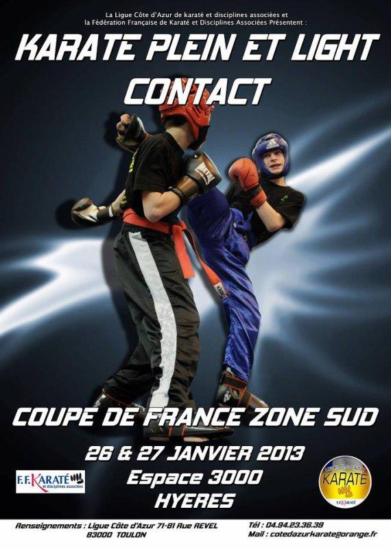 Coupe de France de Karaté plein et light contact