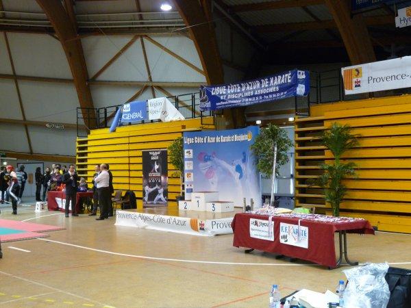 Coupe de France zone sud de karaté plein et light contact