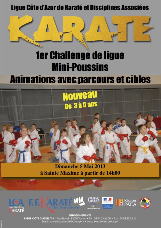 Challenge de ligue Mini-Poussin