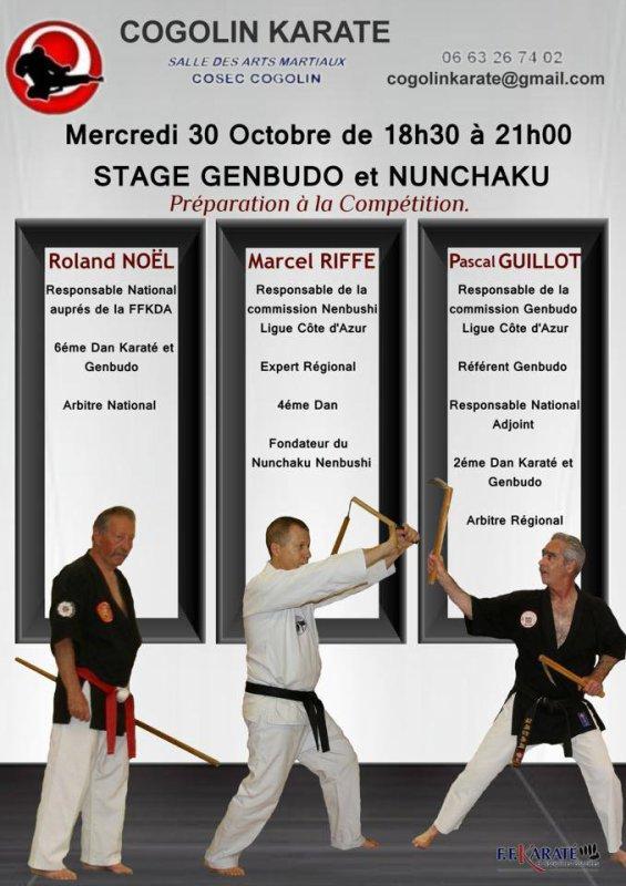 Stage Nunchaku et Genbudo