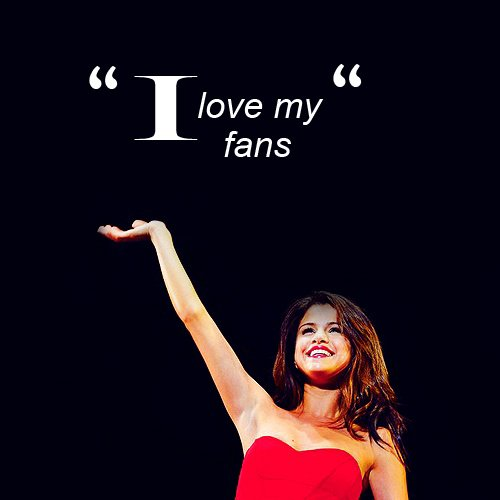 Am crazy about you Selena ♥♥♥