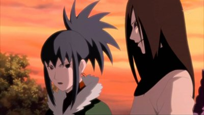moi et mon ancien mentor ,Orochimaru ,