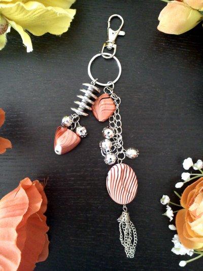 Bijoux sac à main / porte clefs