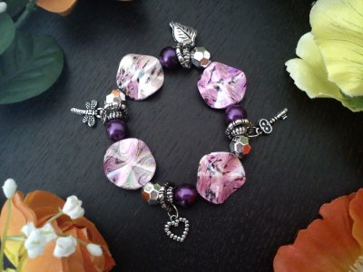 Bracelets Athena perles et breloques