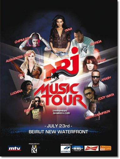 ● Inna au NRJ Music Tour + Inna et son manager