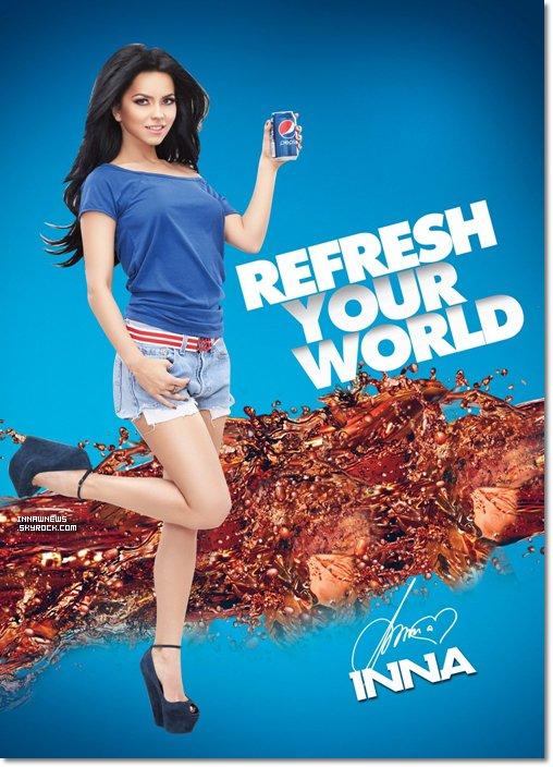 ● Inna pour Pepsi
