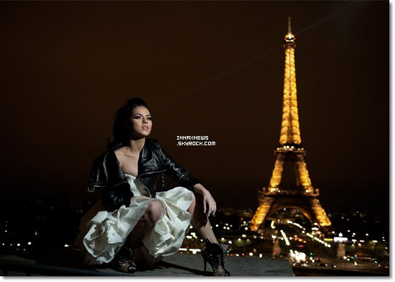● Article flash-back : le Photoshoot d'Inna à Paris (17 avril 2011)