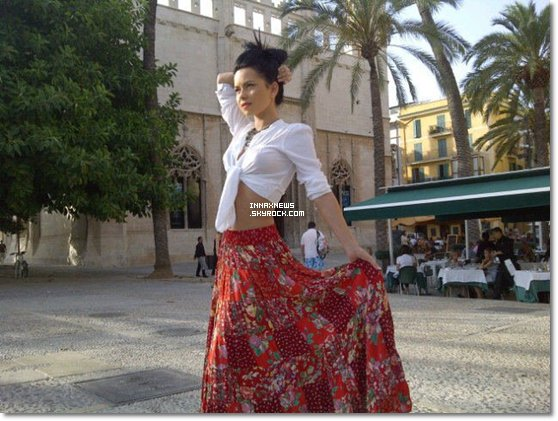 ● Inna à Majorque