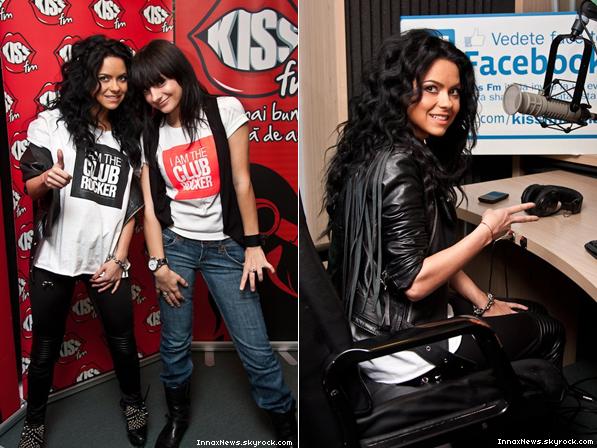 . Inna à Kiss FM + une nouvelle photo de son shoot. Votre avis ? .