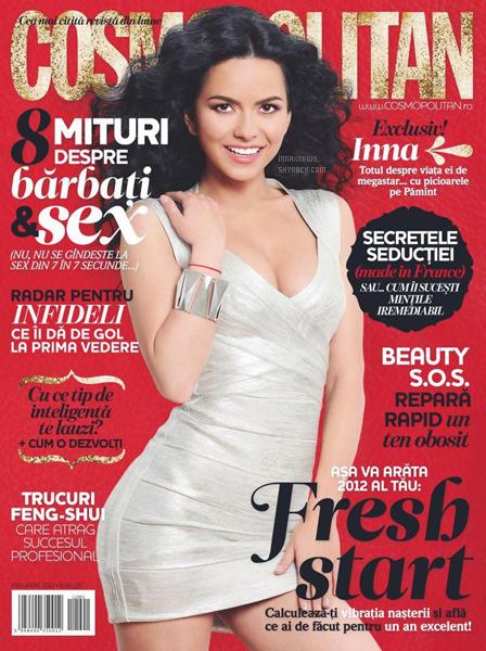 INNA à Kiss FM    + INNA pour Cosmopolitan et autres. Donnez votre avis !