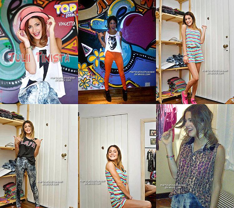 Découvrez le photoshoot très urbain de Martina pour « Sofia Caputo » au cours de l'année 2012.