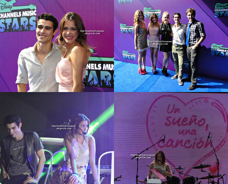 Martina et le reste du cast était au « Disney Channel Music Stars », à un concert et à une conférence  vers début septembre 2012 au Mexique pour dire qu'il y aura bien une saison 2 de « Violetta ».