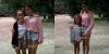 Martina Stoessel était à Carilo et des fans très chanceux était avec elle quelques instants pour une photo.