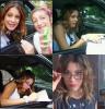 Tini sortant des studios, signant des autographes et posant avec des fans + photo perso avec des lunettes.