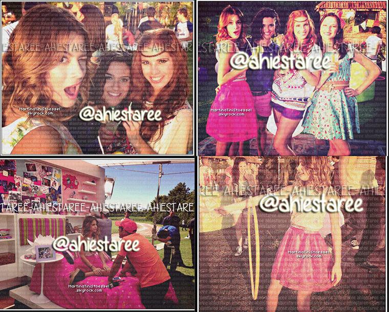 Découvrez 2 nouvelles photos promotionnelles pour « Violetta » saison 2.