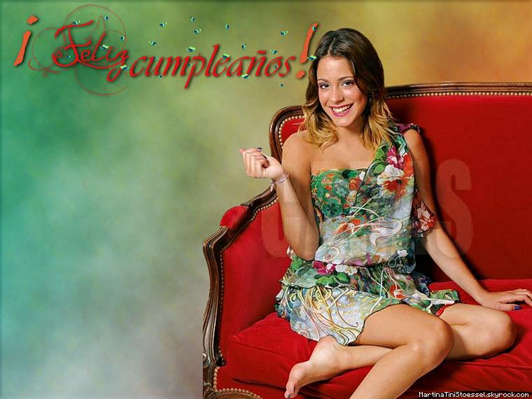 JOYEUX ANNIVERSAIRE / FELIZ CUMPLEAÑOS / HAPPY BIRTHDAY MARTINA STOESSEL !