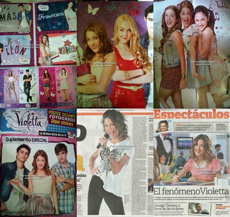 Découvrez le tout nouveau clip de « Violetta » saison 2 nommé « Hoy Somos Mas » !