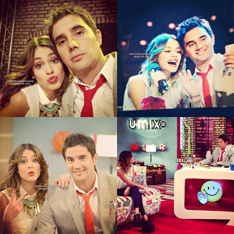 Photos de la conférence de presse pour « Violetta » saison 2 le 25 avril 2013.