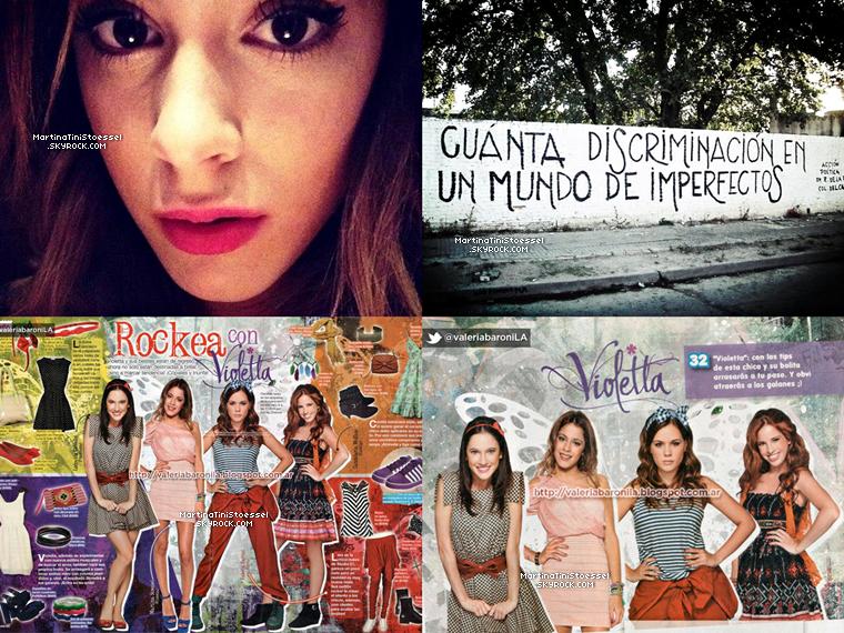 Voici une interview (traduite par Google Trad !) et des photos de Tini pour Ciudad.com.