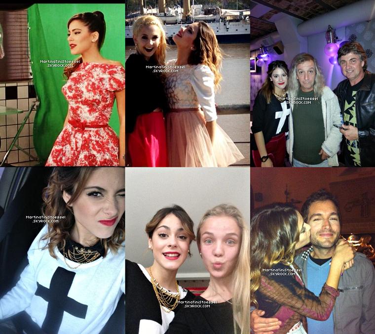 Après quelques jours sans news, voici de nouvelles photos perso de miss Martina Stoessel !