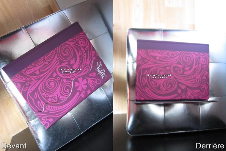 J'ai enfin mon journal « Violetta », je suis trop contente ! ^__^ ♥