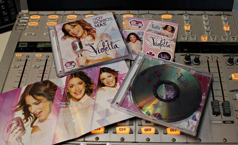 Voici de nouvelles vidéos de « Violetta » saison 2.