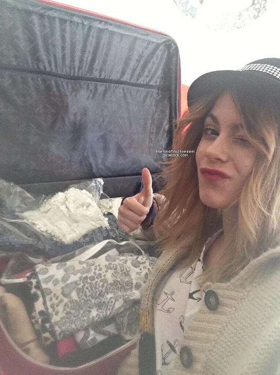 Martina / Violetta est actuellement en France !